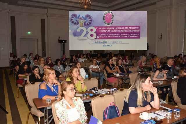 28. Ulusal Böbrek Hastalıkları, Diyaliz ve Transplantasyon Hemşireliği Kongresi